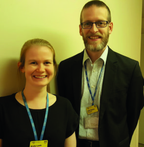 Keith Maclure and Kirsty Lamb Borders General Hospital, NHS Borders