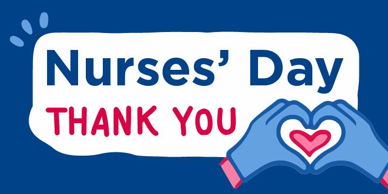 nurses day logo