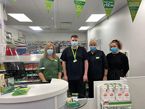 The Superdrug Pharmacy Team Mearns Cross